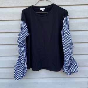 Charming Charlie Womens Small Top Sweater Black